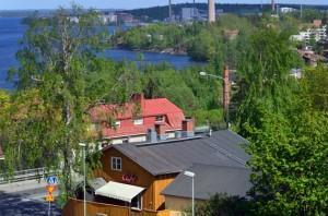 Rajaportin sauna Tampereella