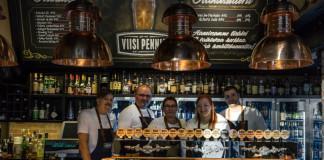 Viisipenniä olutravintola Helsingissä