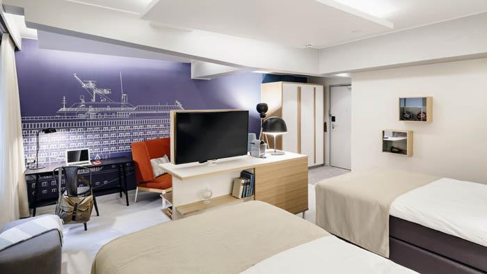 Hotel Indigo Helsinki - Boulevard Executive mock-up room