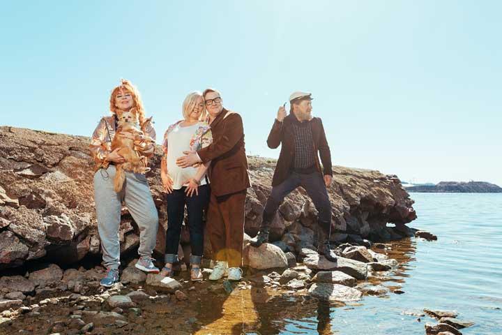 Okko Leo: Onnellisten saari - Kaupunginosakomedia radikalisoitumisesta
