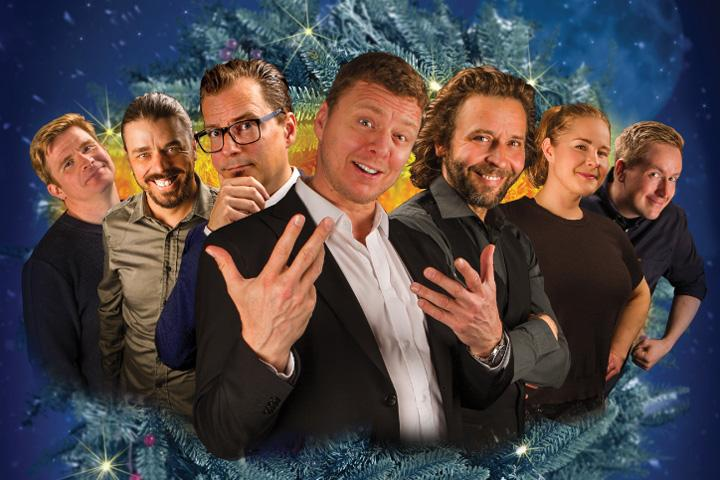 Suomi Nauraa -stand up pikkujoulushow