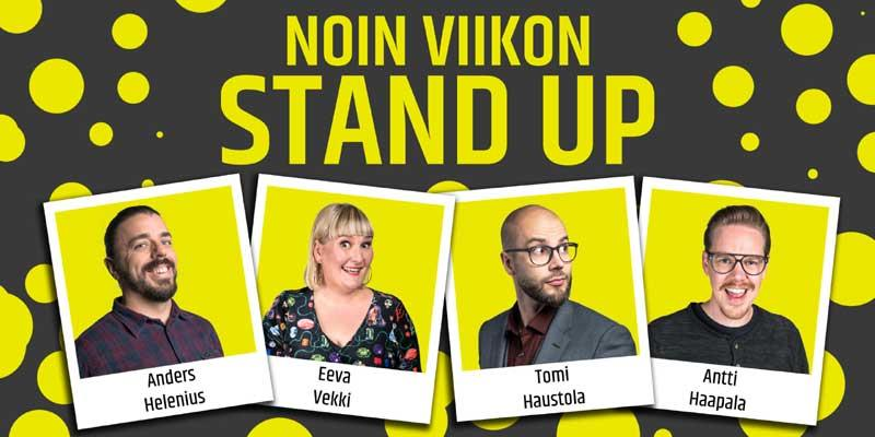 Noin viikon stand up