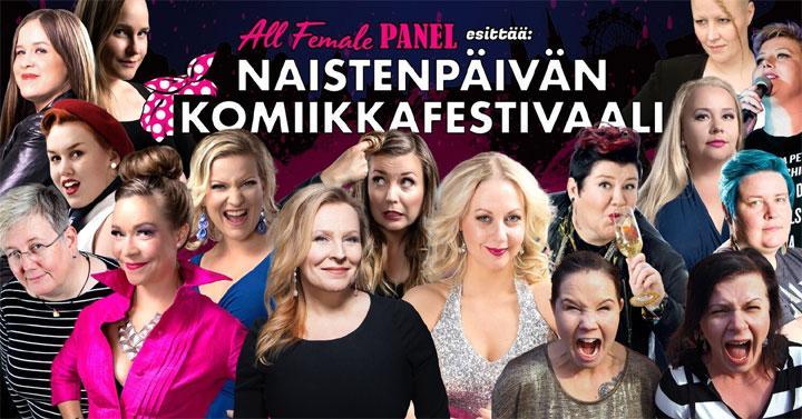 Naistenpäivän komiikkafestivaali 2020