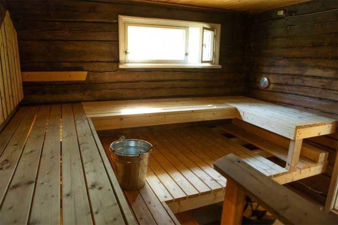 Jollaksen kartanon sauna