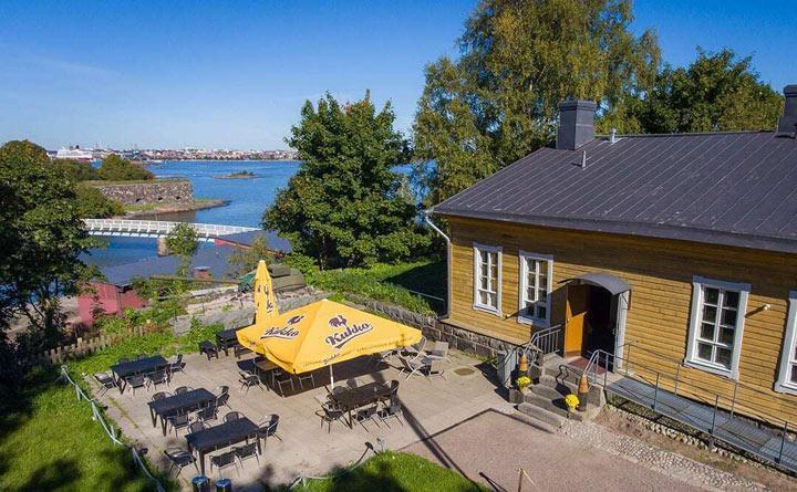 Bastion Bistro – Ravintola Suomenlinnassa