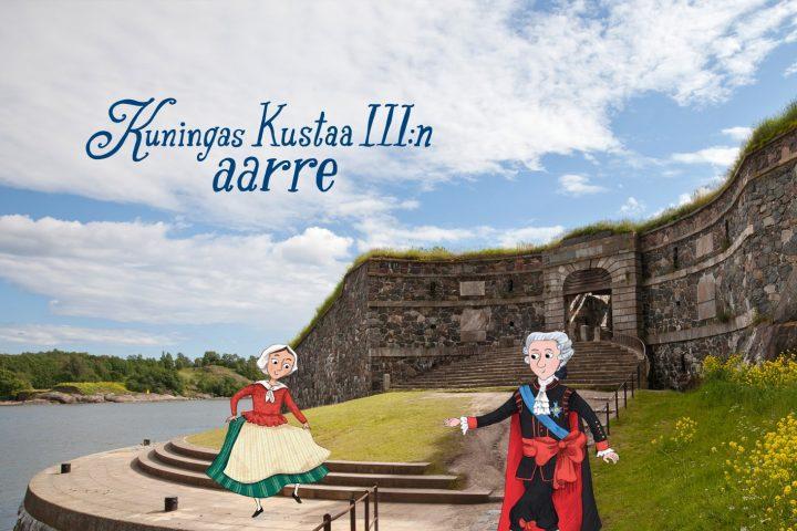 Seikkailukierros Suomenlinnassa: Kuningas Kustaa III:n aarre