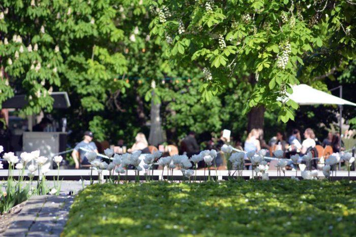 G Livelabin puistoterassi. Kuvaaja: Toni Honko, Kohokohdat.fi