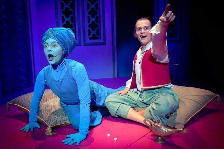 Kesäteatteria - Aladdin ja taikalamppu Tampereella