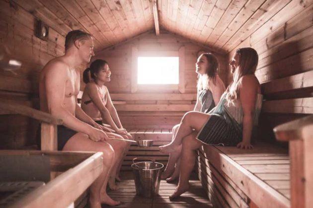 Suolijärven sauna