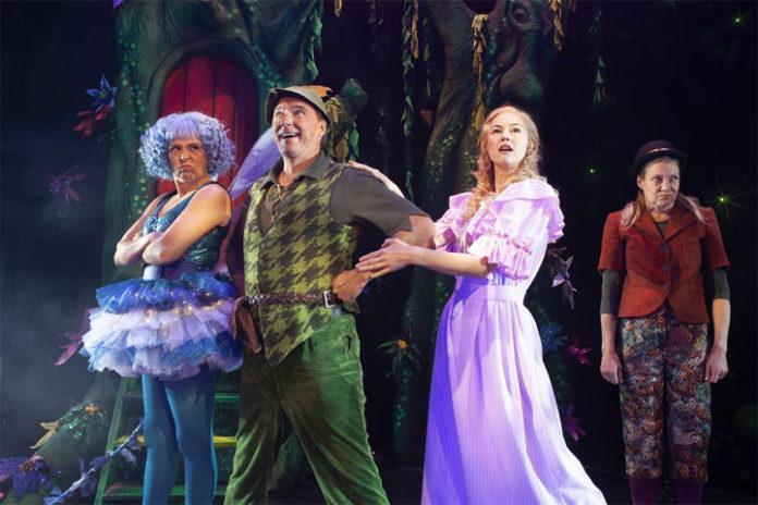 Peter Pan menee pieleen -teatteriesitykset Tampereella