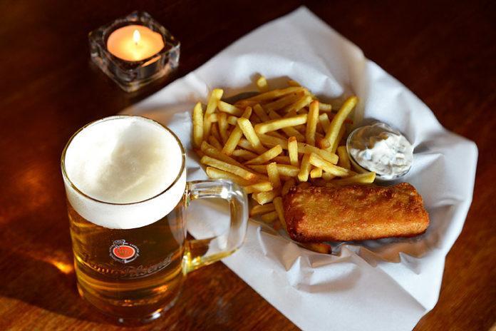Fish & Chips -annos Sailor's Bar
