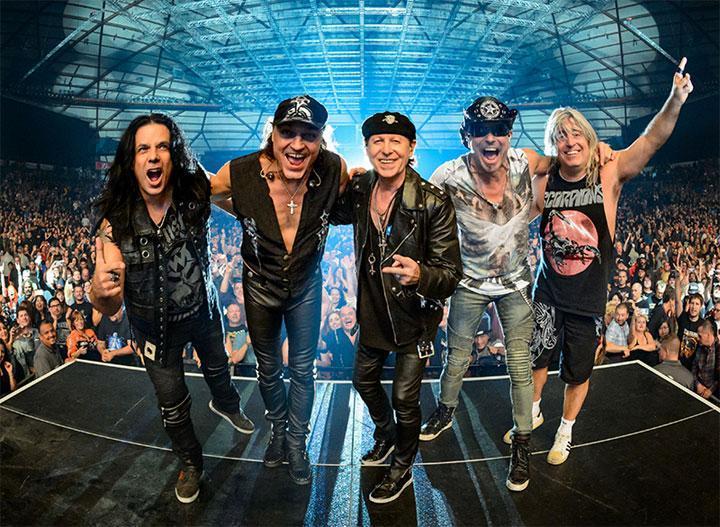 Scorpions konsertti Tampere