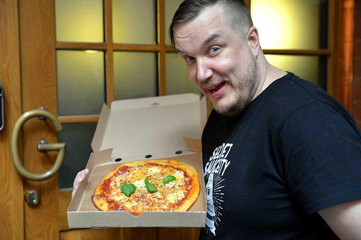 Pizzaa Tampereella