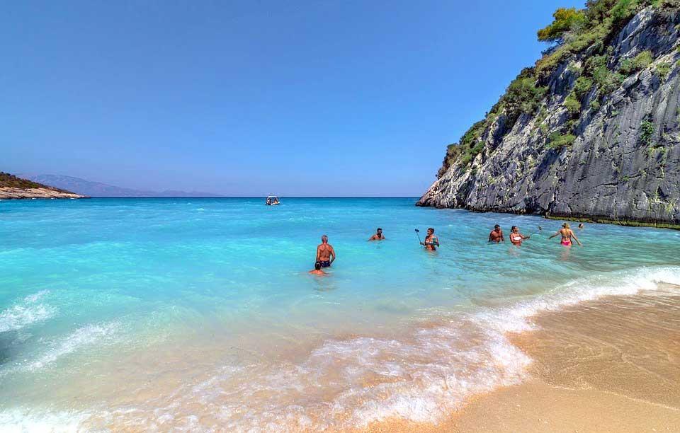 Xigia ranta Zakynthoksella – Kreikan hienoimmat hiekkarannat