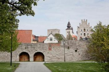 Visby ja sen kaupunginmuuri.