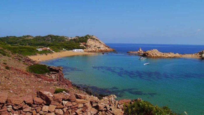 Cala Pregonda, Menorca - Menorcan hiekkarannat