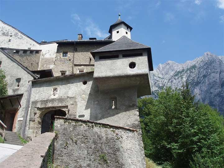 Hohenwerfenin Linna Saltzburgissa Itävallassa