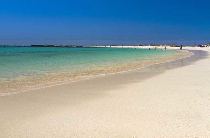 El Cotillo -ranta Fuerteventuralla