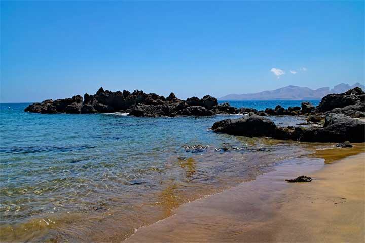 Puerto Del Carmen -hiekkaranta Lanzarotella