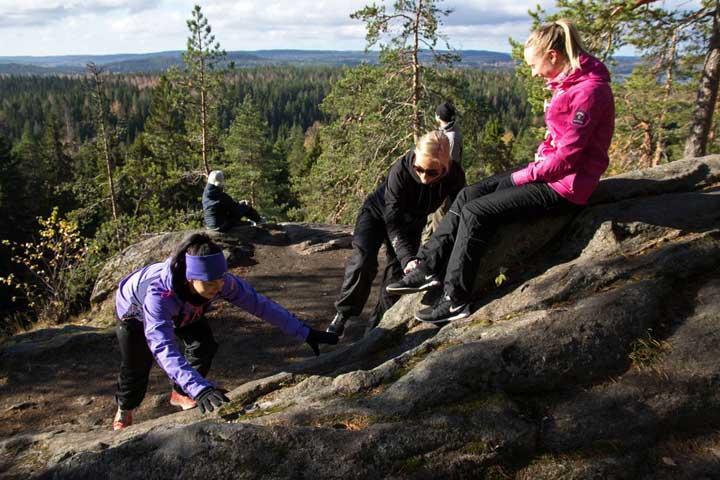 Vuorilampi Kuopiossa – retkeilykohde lähellä Kuopion keskustaa