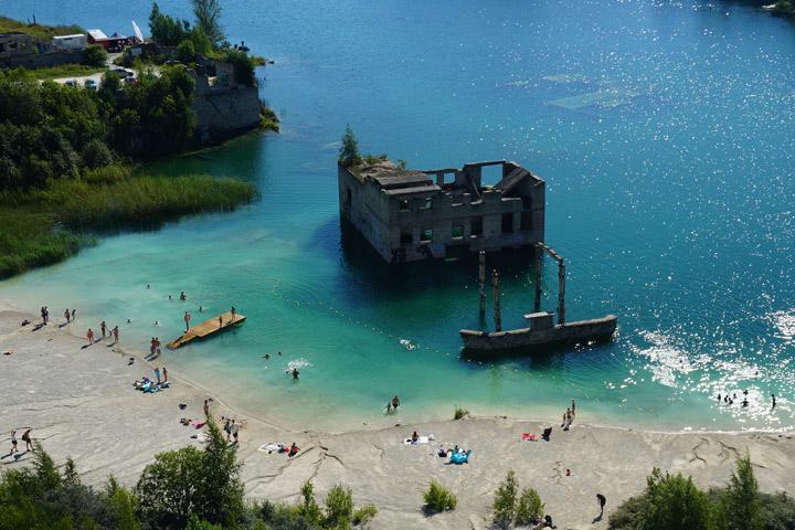 Rummun uimaranta Virossa